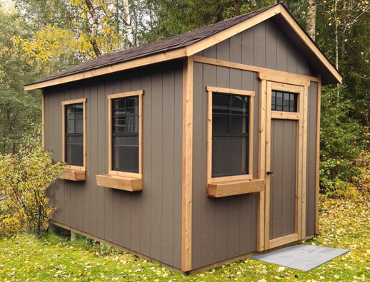 8x12 gable bunkie - see details below
