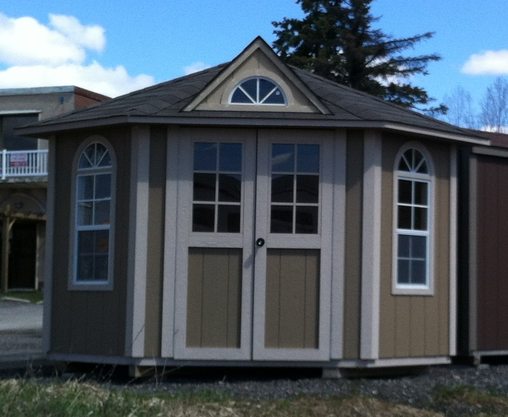 5 Sided Shed – 5 Sided Garden Shed Plans