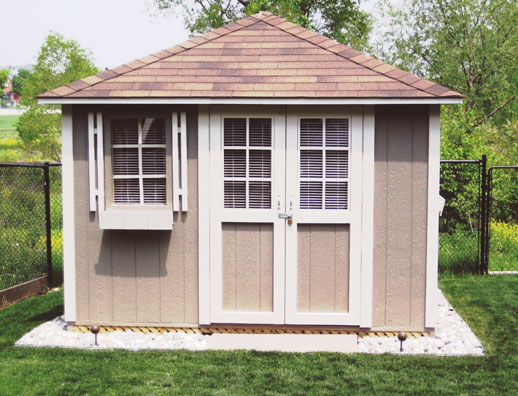 Hip Roof Shed | DuroShed