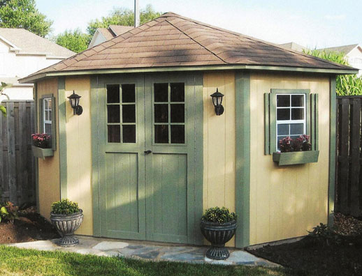 5 Sided Shed Duroshed