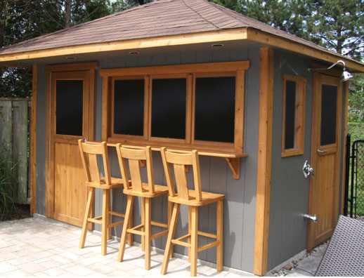 Custom pool sheds duroshed for Pool house shed plans
