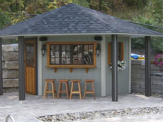 shed with bar Quotes